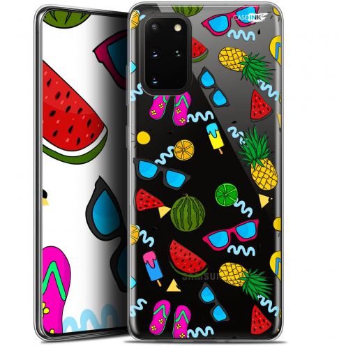 "Coque Gel Samsung S20+ (6.7"") Extra Fine Motif - Summers"