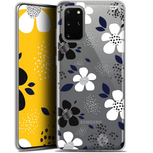 "Coque Gel Samsung S20+ (6.7"") Extra Fine Motif - Marimeko Style"