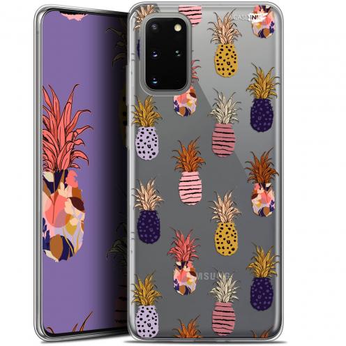 """Coque Gel Samsung S20+ (6.7"""") Extra Fine Motif - Ananas Gold"""