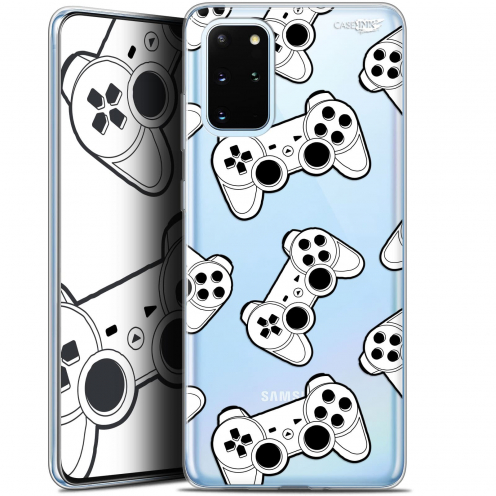 "Coque Gel Samsung S20+ (6.7"") Extra Fine Motif - Game Play Joysticks"