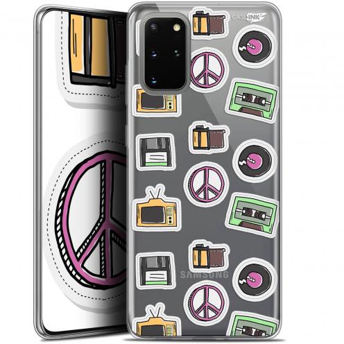"Coque Gel Samsung S20+ (6.7"") Extra Fine Motif - Vintage Stickers"