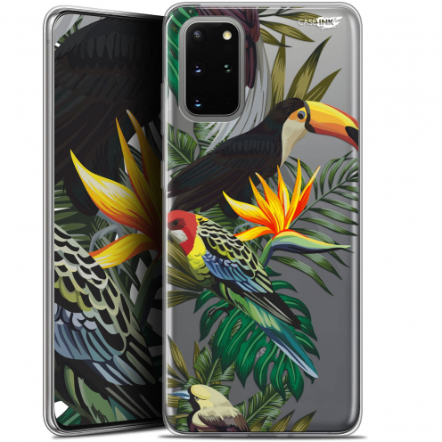 "Coque Gel Samsung S20+ (6.7"") Extra Fine Motif - Toucan Tropical"
