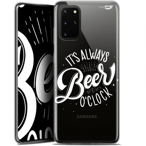 "Coque Gel Samsung S20+ (6.7"") Extra Fine Motif - Its Beer O'Clock"