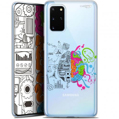 "Coque Gel Samsung S20+ (6.7"") Extra Fine Motif - Le Cerveau"