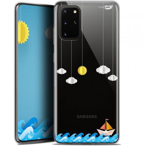 "Coque Gel Samsung S20+ (6.7"") Extra Fine Motif - Petit Bateau en Mer"