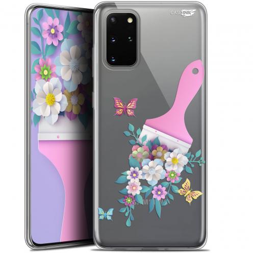 "Coque Gel Samsung S20+ (6.7"") Extra Fine Motif - Pinceau à Fleurs"