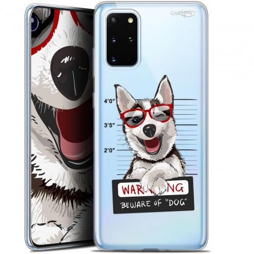 "Coque Gel Samsung S20+ (6.7"") Extra Fine Motif - Beware The Husky Dog"
