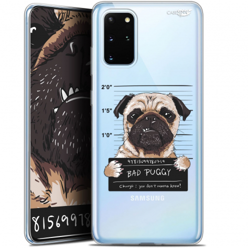 "Coque Gel Samsung S20+ (6.7"") Extra Fine Motif - Beware The Puggy Dog"