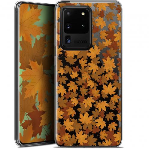 "Coque Gel Samsung Galaxy S20 Ultra (6.9"") Extra Fine Autumn 16 - Feuilles"
