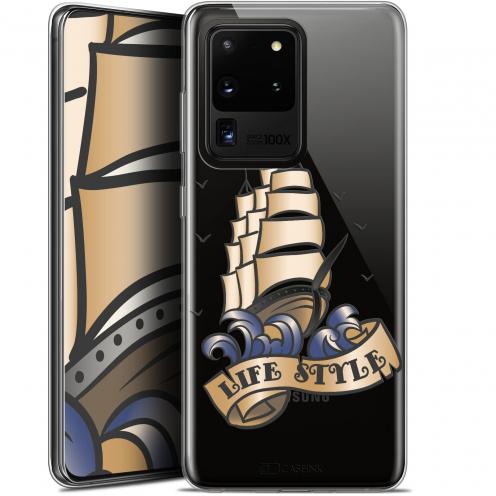 "Coque Gel Samsung Galaxy S20 Ultra (6.9"") Extra Fine Tatoo Lover - Fashion"
