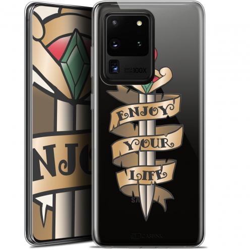 "Coque Gel Samsung Galaxy S20 Ultra (6.9"") Extra Fine Tatoo Lover - Enjoy Life"