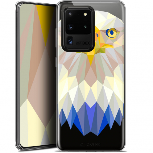 "Coque Gel Samsung Galaxy S20 Ultra (6.9"") Extra Fine Polygon Animals - Aigle"
