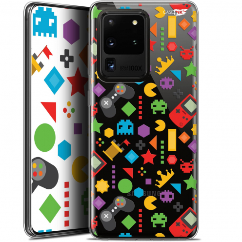 "Coque Gel Samsung Galaxy S20 Ultra (6.9"") Extra Fine Motif - PacMan"