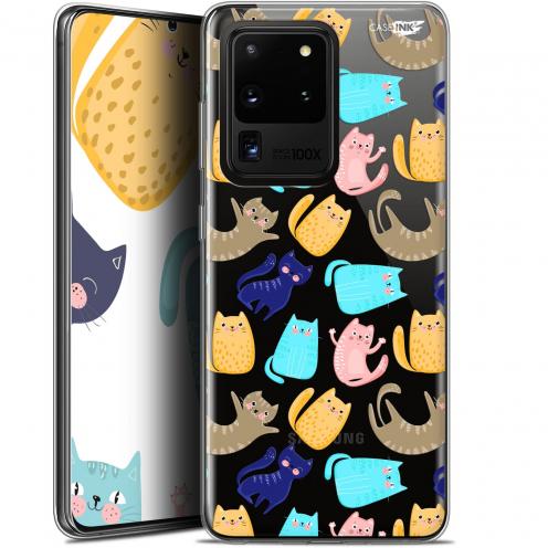 "Coque Gel Samsung Galaxy S20 Ultra (6.9"") Extra Fine Motif - Chat Danse"