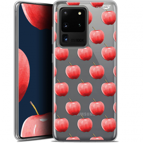 "Coque Gel Samsung Galaxy S20 Ultra (6.9"") Extra Fine Motif - Cerises"