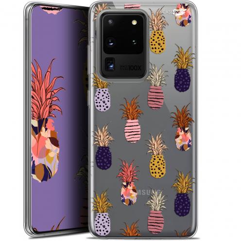 "Coque Gel Samsung Galaxy S20 Ultra (6.9"") Extra Fine Motif - Ananas Gold"