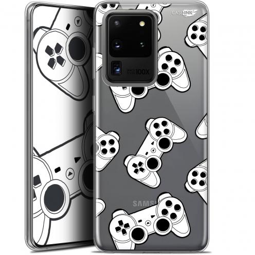 "Coque Gel Samsung Galaxy S20 Ultra (6.9"") Extra Fine Motif - Game Play Joysticks"