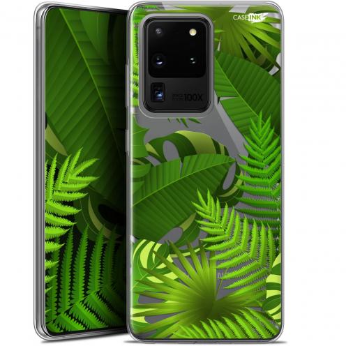"""Coque Gel Samsung Galaxy S20 Ultra (6.9"""") Extra Fine Motif - Plantes des Tropiques"""