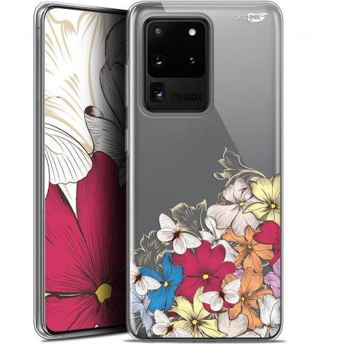 """Coque Gel Samsung Galaxy S20 Ultra (6.9"""") Extra Fine Motif - Nuage Floral"""