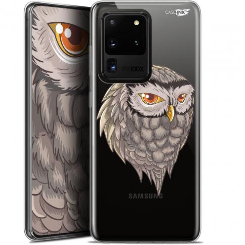 """Coque Gel Samsung Galaxy S20 Ultra (6.9"""") Extra Fine Motif - Hibou Draw"""