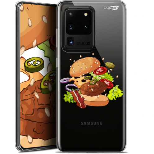 "Coque Gel Samsung Galaxy S20 Ultra (6.9"") Extra Fine Motif - Splash Burger"
