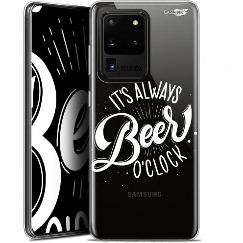 "Coque Gel Samsung Galaxy S20 Ultra (6.9"") Extra Fine Motif - Its Beer O'Clock"