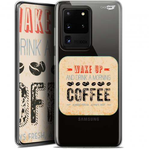 "Coque Gel Samsung Galaxy S20 Ultra (6.9"") Extra Fine Motif - Wake Up With Coffee"