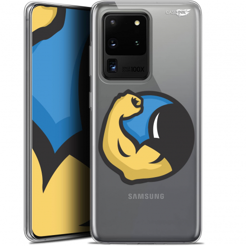 "Coque Gel Samsung Galaxy S20 Ultra (6.9"") Extra Fine Motif - Monsieur Muscle"