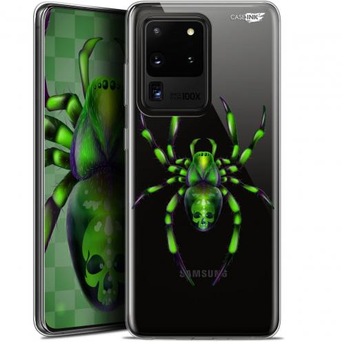 "Coque Gel Samsung Galaxy S20 Ultra (6.9"") Extra Fine Motif - Arraignée Verte"