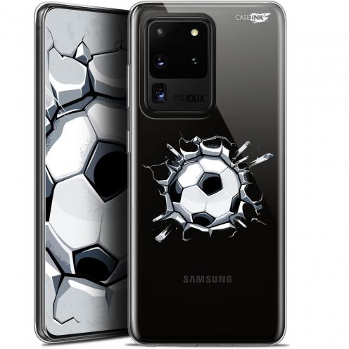 """Coque Gel Samsung Galaxy S20 Ultra (6.9"""") Extra Fine Motif - Le Balon de Foot"""