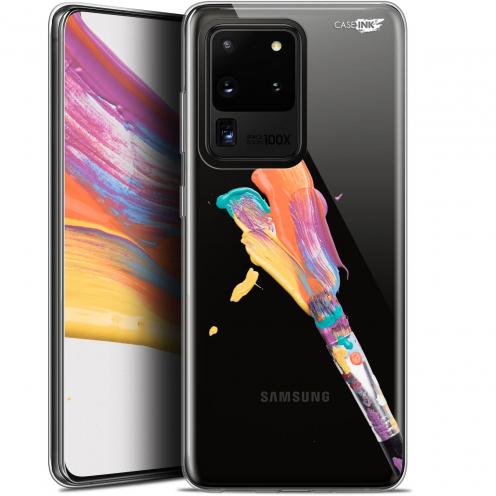 """Coque Gel Samsung Galaxy S20 Ultra (6.9"""") Extra Fine Motif - Pinceau de Peinture"""