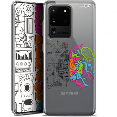 "Coque Gel Samsung Galaxy S20 Ultra (6.9"") Extra Fine Motif - Le Cerveau"