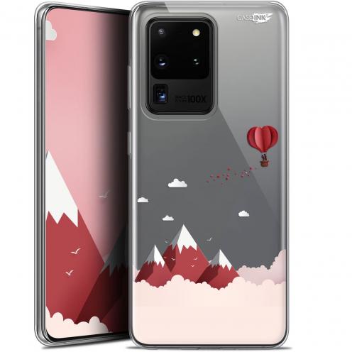 "Coque Gel Samsung Galaxy S20 Ultra (6.9"") Extra Fine Motif - Montagne En Montgolfière"