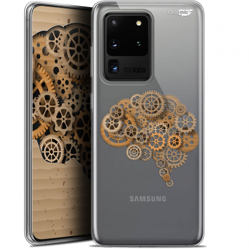 "Coque Gel Samsung Galaxy S20 Ultra (6.9"") Extra Fine Motif - Mécanismes du Cerveau"