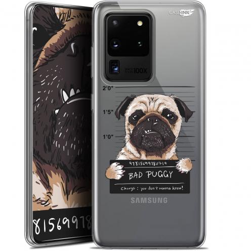 "Coque Gel Samsung Galaxy S20 Ultra (6.9"") Extra Fine Motif - Beware The Puggy Dog"