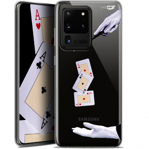 """Coque Gel Samsung Galaxy S20 Ultra (6.9"""") Extra Fine Motif - Cartes Magiques"""