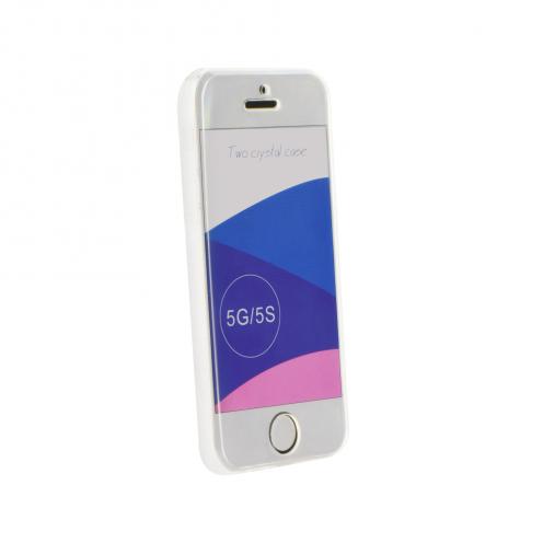 "360"" Ultra Slim Front+Back pour Coque iPhone 5/5S transparent"