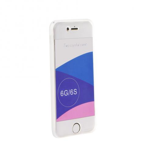 "360"" Ultra Slim Front+Back pour Coque iPhone 6/6S transparent"