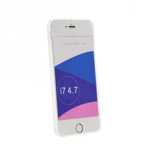 """360"""" Ultra Slim Front+Back pour Coque iPhone 7 / 8 / SE 2020 transparent"""