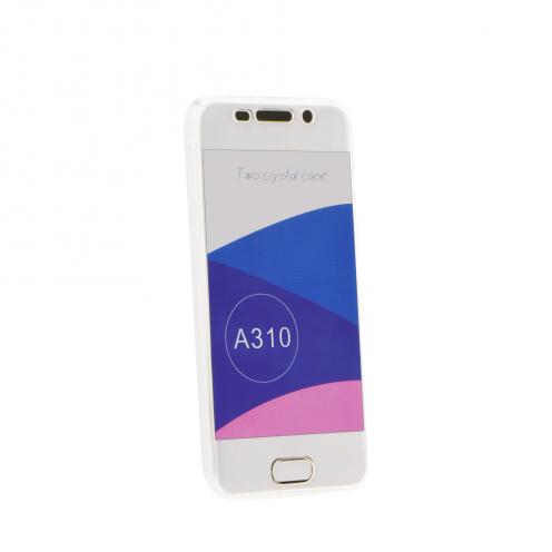 """360"""" Ultra Slim Front+Back pour Coque Samsung Galaxy A20E transparent"""