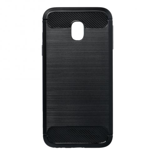 Forcell CARBON Coque pour Samsung Galaxy J3 2017 Noir