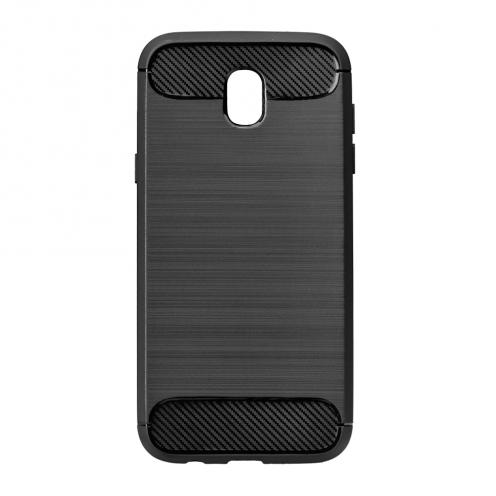 Forcell CARBON Coque pour Samsung Galaxy J5 2017 Noir