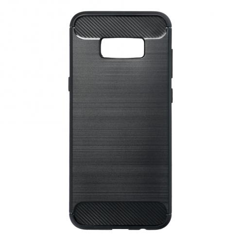 Forcell CARBON Coque pour Samsung Galaxy S8 PLUS Noir