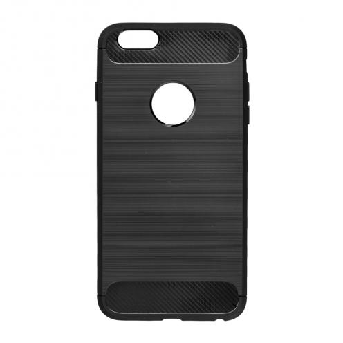 Forcell CARBON Coque pour iPhone 6/6S Noir
