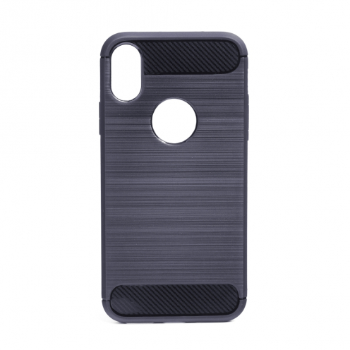 """Forcell CARBON Coque pour iPhone XS ( 5,8"""" ) graphite"""