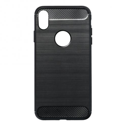"""Forcell CARBON Coque pour iPhone XS Max ( 6,5"""" ) Noir"""