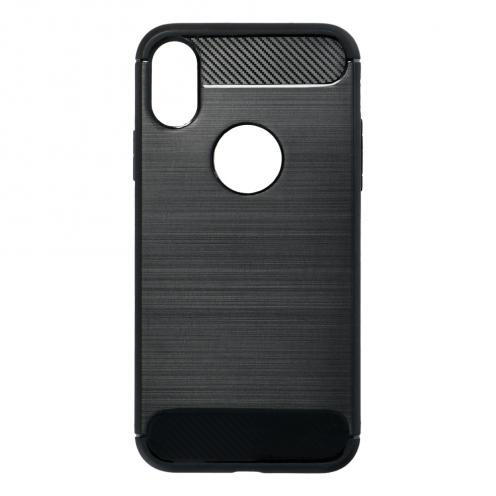 """Forcell CARBON Coque pour iPhone XS ( 5,8"""" ) Noir"""