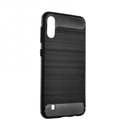 Forcell CARBON Coque pour Samsung Galaxy M31 Noir