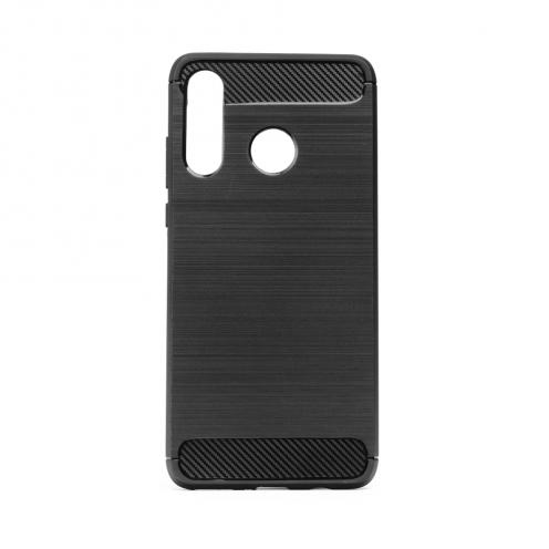 Forcell CARBON Coque pour Huawei P40 Lite E Noir