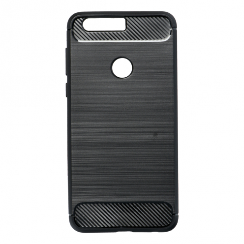 Forcell CARBON Coque pour Huawei HONOR 8 Noir